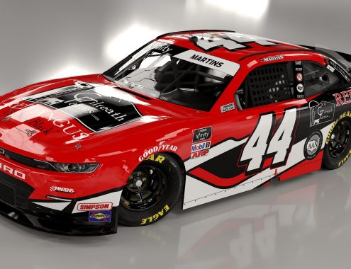 Ken Gilreath sponsors NASCAR Tommy Joe Martins
